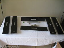 6 PIECE PHILIPS CS 9800 CS9800 CENTER CHANNEL FRONT & SIDES SURROUND SPEAKER SET