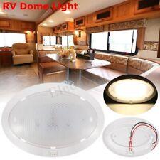 LED 12V Pancake Light RV Caravan Trailer Boat Interior Ceiling Dome Light 250