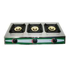 New listing Propane Gas Portable Stove 3 Burners 30,000 Btu Stainless Steel Camping Stove