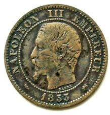 N°19 - 2 centimes. Napoléon III 1853 D - Lyon (Petit D)