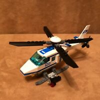 7741 Lego Complete City Police Helicopter english italian