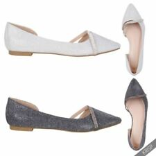 Ballet Flats Slip On Solid Shoes for Women