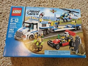 LEGO City Helicopter Transporter (60049) Brand New Sealed
