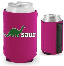 Dino-saur Magnetic Can Coolie, Neoprene, Collapsible