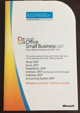 MS Office 2007 Small Business MLK (Key Card) with install CD