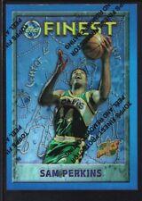 SAM PERKINS 1995/96 TOPPS FINEST #94 REFRACTOR SONICS SP RARE