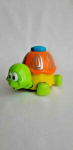 Toy turtle, Plastic turtle, Animal toy. Moves by itself.