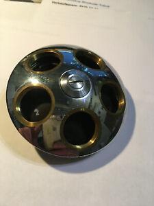 Objektiv-Revolver für ein Leitz  Mikroskop