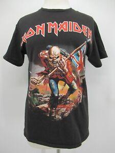 P8415 VTG Iron Maiden Men's Invasion Of Rarities Heavy Metal Band T-Shirt