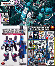 Transformers Perfect Effect PE-DX03 Warden / IDW Fortress Maximus Ex display