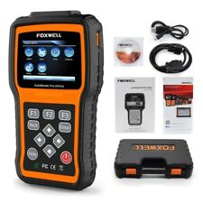 FOXWELL NT414 DIAGNOSTIC SCANNER TOOL ABS SRS AIRBAG TRANSMISSION EPB OIL RESET