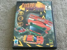 Fatal Racing - PC GAME - FREE POST *