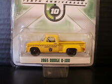 Greenlight 1965 Dodge D100 Stepside Truck Service Patrol 1/64 Die Cast