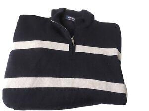Saint James France Striped Knit Sweater Size Medium
