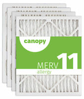 "Canopy Filter 16 3/8 x 21 1/2 x 1 MERV 11, 16 3/8"" x 21 1/2"" x 3/4"", Box of 4"