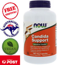 Now Foods Candida Support, 180 Vegan Capsules  Intestinal Health*