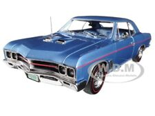1967 BUICK GS BLUE LTD TO 1002PC 1/18 & 1/64 2 CARS SET BY AUTOWORLD AMM1115