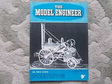 THE  MODEL ENGINEER Vol.111.No.2788 OCT 28 1954. PICKERING TRACTION ENGINE RALLY