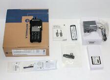 NEW IN BOX MOTOROLA MOTOTRBO XPR7550E UHF DIGITAL RADIO GPS WIFI. DMR BLUETOOTH