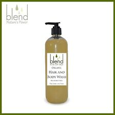 Hair and Body Wash 450ml - Organic Unscented Sensitive Skin Eczema Baby Natural