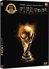 Hammerpaket FIFA Fever DVD Box Fußball WM-Highlights, inkl.17 World Cup Turniere
