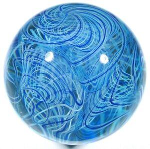 "Hot House Glass ""Rerun"" marble 1.86"" 47mm #635"