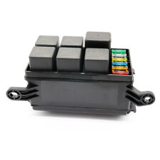 6 Way  car Fuse Holder Box With Spade Terminals and fuse 6PCS relays  fuse box