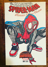 Spiderman 1 Todd Mcfarlane Tribute Drawn & Signed By James Fugate