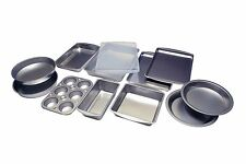 Complete Baking Bakeware Set Bakers Pan 12 PCS Made in USA Uncoated BRANDNEW