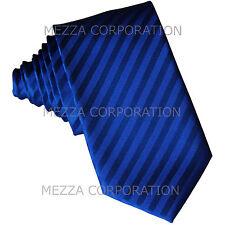 """New Vesuvio Napoli Men's 2.5"""" skinny Neck Tie necktie Stripes Royal Blue"""