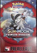 Pokemon TCG Sun & Moon SM4 Crimson Invasion Prerelease Box Kit FACTORY SEALED!!