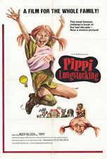PIPPI LONGSTOCKING Movie POSTER 27x40 Inger Nilsson