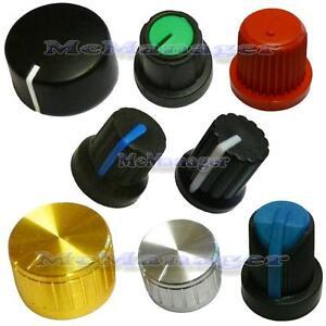 Various Type of  Potentiometer/Encoder Knobs For 6mm Shaft