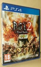 A.O.T.2 Final Battle Playstation 4 PS4 NEW NEW SEALED Free UK p&p UK STOCK Pal