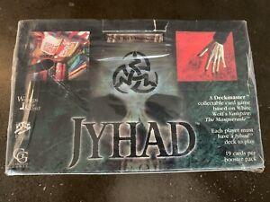 Jyhad Booster sealed Box - Jyhad Vampire the Masquerade Deckmaster, WOC6002