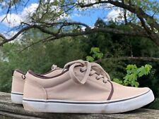 GAP Boat Deck Canvas Camel Back & Brown Accents Loafers Oxfords Mens Sz 12 👣b8