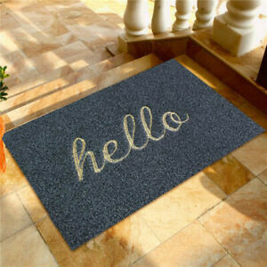 Welcome Hello Mats For Front Door Funny Door Mats Outside Non-slip Mats JH