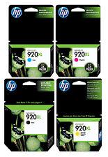 GENUINE NEW HP 920XL Ink Cartridge 4-Pack