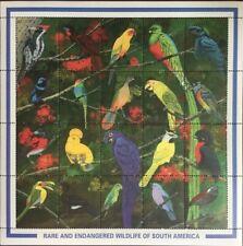 Guyana 1990 birds nice klb MNH