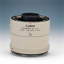 Canon Extender EF 2x II Lens, excellent condition.  No Reserve!