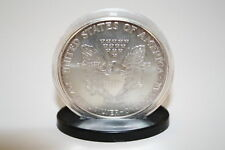 Coin DISPLAY STANDS for Silver Eagle/Morgan/Peace/IKE Dollar Capsules (QTY 100)