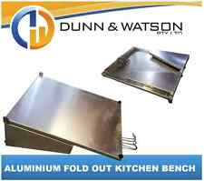 Aluminium Fold Out Camper Trailer Kitchen Bench (400mm W x 500mm L x 40mm Thick)