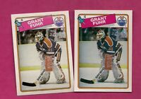 1988-89 TOPPS / OPC  # 59 OILERS GRANT FUHR  GOALIE  CARD (INV# 8814)