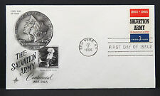 The Salvation Army Artcraft Cachet New York FDC First Day of Issue USA (Lot 5715