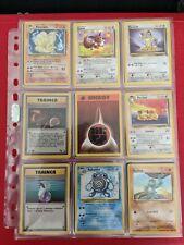 Base Set Fossil Jungle Team Rocket bundle 1st editions holos Pokemon Cards 40+