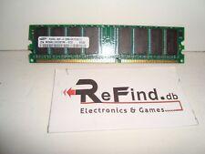 256MB RAM SAMSUNG DDR PC3200 CL3 Non - ECC Fisso memoria RAM