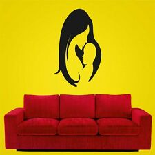 meSleep Black Baby & Mummy Decorative Wall Sticker- Wall Decals -WS-08-196