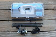 """Shakespeare ~ Travel Mate Spinning Reel & Fishing Rod 6' 6"""" Tm66Prkit"""