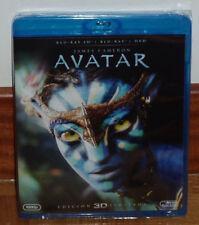 AVATAR COMBO BLU-RAY 3D+BLU-RAY 2D+DVD NUEVO PRECINTADO FANTASTICO (SIN ABRIR)