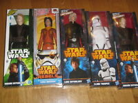 """HASBRO STAR WARS 12"""" - 30 cm ACTION FIGURE  various  available NEW NUOVO sealed"""